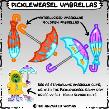 PickleWeasel Umbrellas