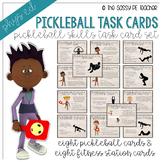 Pickleball Station Task Cards