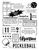 Pickleball Study Guide