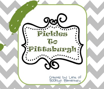 Pickles to Pittsburgh Mini Social Studies Unit