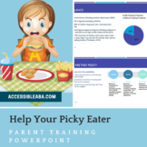Picky Eaters Parent Training