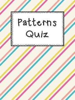 Picky Patterns Quiz