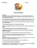Picky Writing Rules