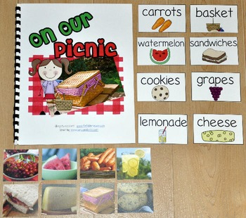 "Picnic Adapted Book--""On Our Picnic"" (w/Real Photos)"