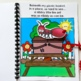 """Picnic Adapted Book-""""The Nibbly Nibbly Fire Ant"""" (w/Wh Questions)"""
