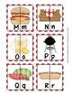Picnic Alphabet Letter Match Puzzles