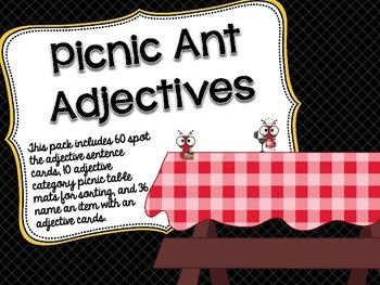Picnic Ant Adjectives