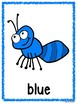 Picnic/Ant Theme Color Posters & Memory Cards