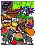 Picnic Ants {Creative Clips Digital Clipart}