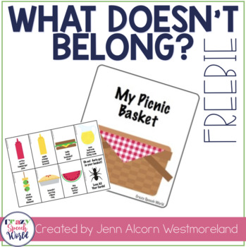 Picnic Categories:  What Doesn't Belong?