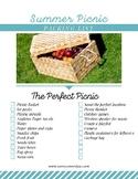 Picnic Checklist Printable [FREE]