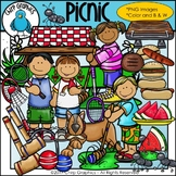 Picnic Clip Art Set - Chirp Graphics