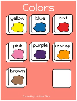 Picnic Color Books (Adapted Books)
