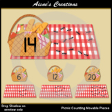 Picnic Counting Movable Pieces