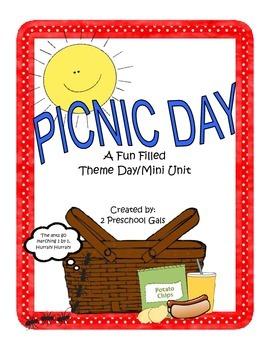 Picnic Day: A Fun Filled Theme Day/Mini Unit