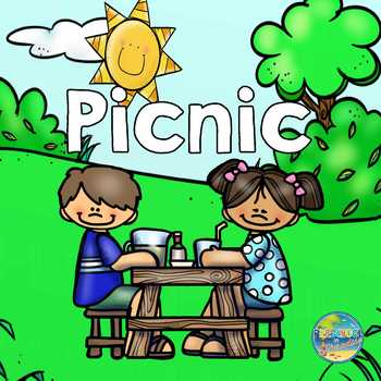 Picnic File Folder Game