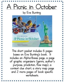 Picnic In October 6 page packet