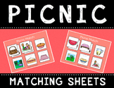 Picnic Match Sheets