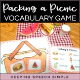 Vocabulary Games for Early Learners - Picnic Themed