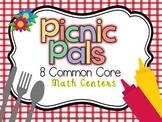 Picnic Pals 8 Common Core Math Centers