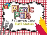 Picnic Pals 8 Common Core Math Centers