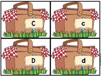 Picnic Pals Alphabet Match (Upper/Lower case, Beginning sounds)