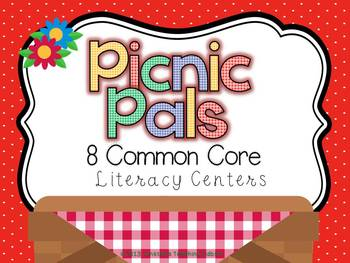 Picnic Pals Common Core Literacy Centers
