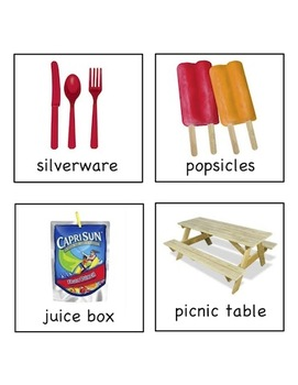 Picnic Party! - Write the Room Activity