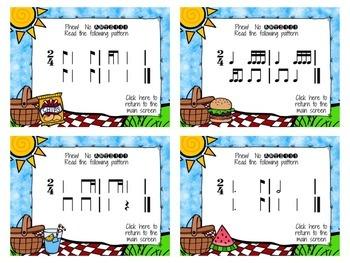 Picnic Patterns for Rhythm Practice {BUNDLED SET}