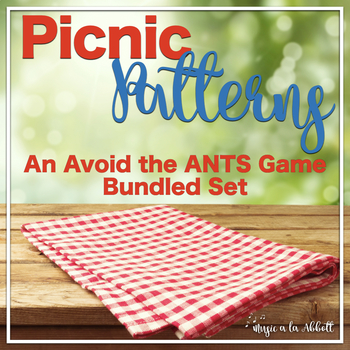 Picnic Patterns for Rhythm Practice {BUNDLED SET}
