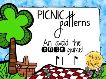Picnic Patterns for Rhythm Practice {syncopa}