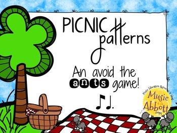 Picnic Patterns for Rhythm Practice {ti-tam}