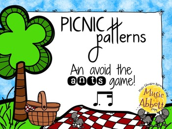 Picnic Patterns for Rhythm Practice {tim-ka}