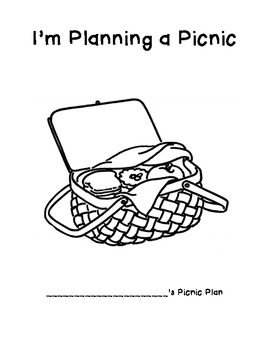 Picnic Planning Project (Estimation)