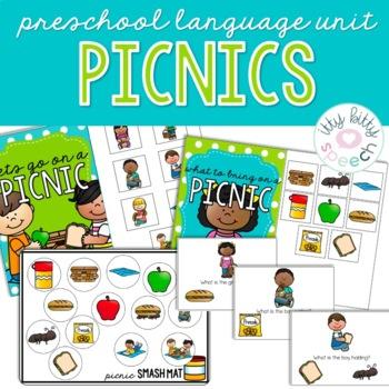 Picnic Preschool Language Unit