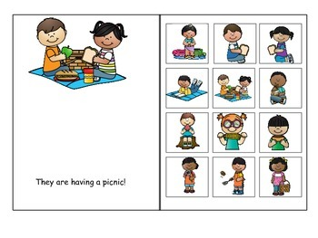 Picnic Pronouns and Prepositions