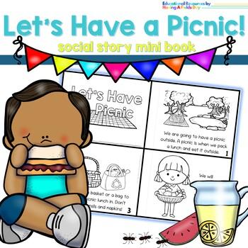 Picnic Social Story Mini Book
