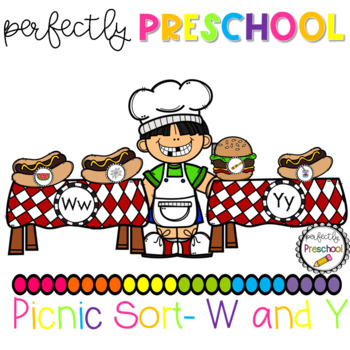 Picnic Sound Sort W and Y