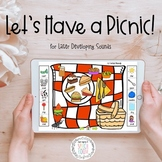 Let's Have a Picnic: Digital Task Cards with BOOM for Late