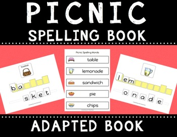 Picnic Spelling Books (Adapted Book)