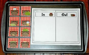 Picnic Cookie Sheet Activities
