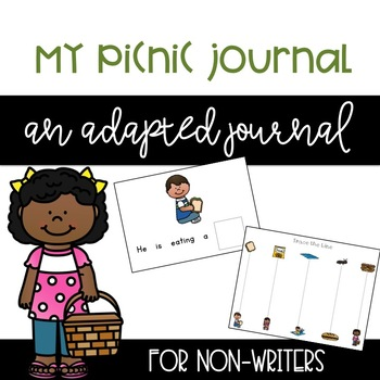 Picnic Themed Writing Journal (for Non-Writers)