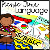 Spring Language Activities Picnic Themed