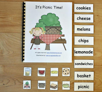 "Adapted Books Unit--""Picnic Time"""