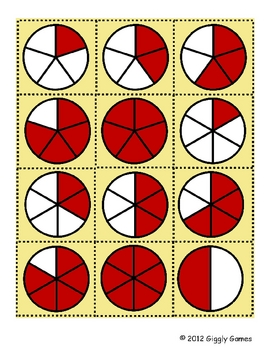 Picnic Time Fractions Envelope Center