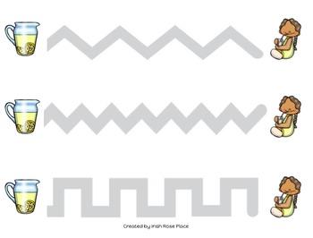 Picnic Tracing Sheets