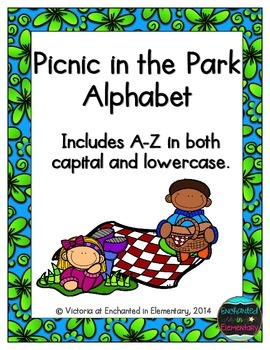 Picnic in the Park Alphabet! Letter and Sound Recognition Game