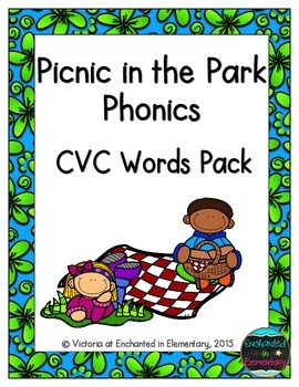 Picnic in the Park Phonics: CVC Words Pack
