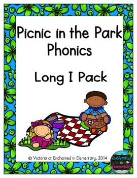 Picnic in the Park Phonics: Long I Pack