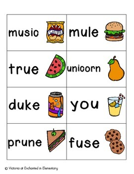 Picnic in the Park Phonics: Long U Pack